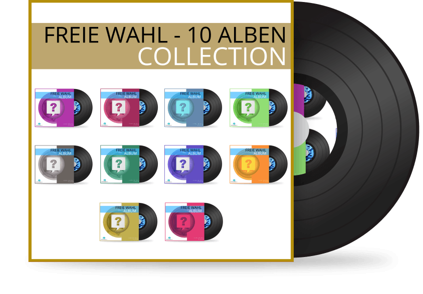 Freie Wahl 10 Alben Collection - Silent Subliminal