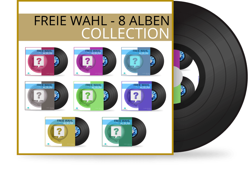 Freie Wahl 8 Alben Collection - Silent SUbliminal